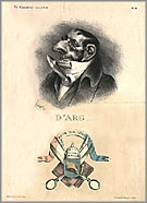 """D'Arg"" by Honoré Daumier"