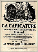 La Caricature Journal Advertisement
