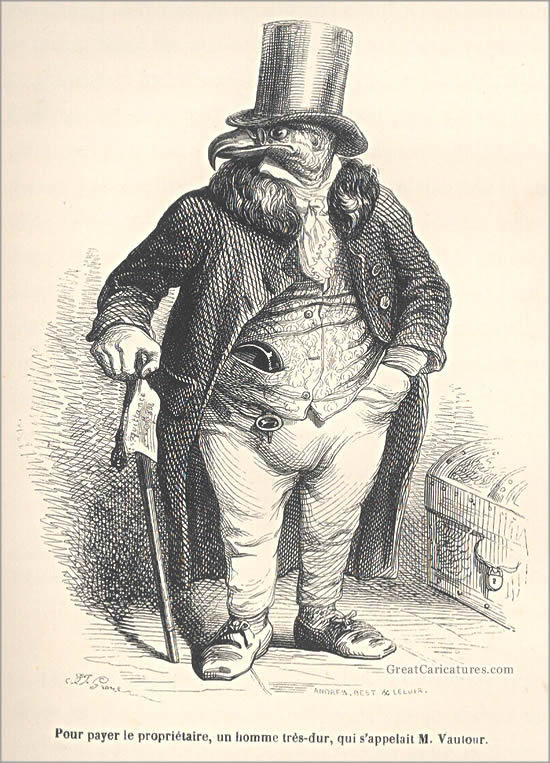 Grandville Illustration