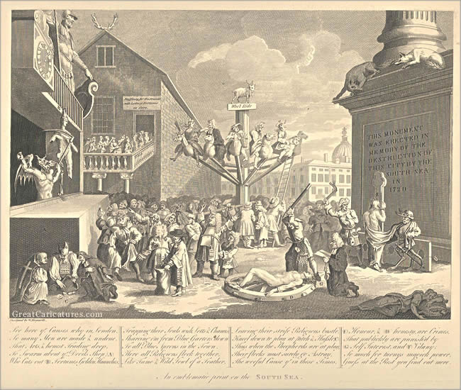 The South Sea Scheme by William Hogarth