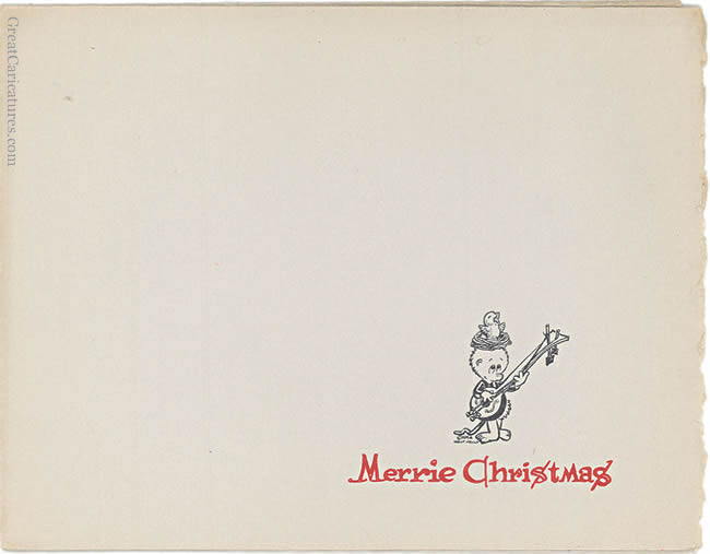 1954 Pogo Christmas Card