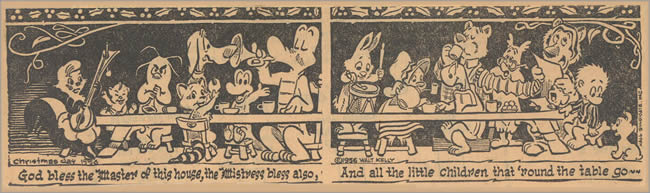 1956 Pogo Christmas Card