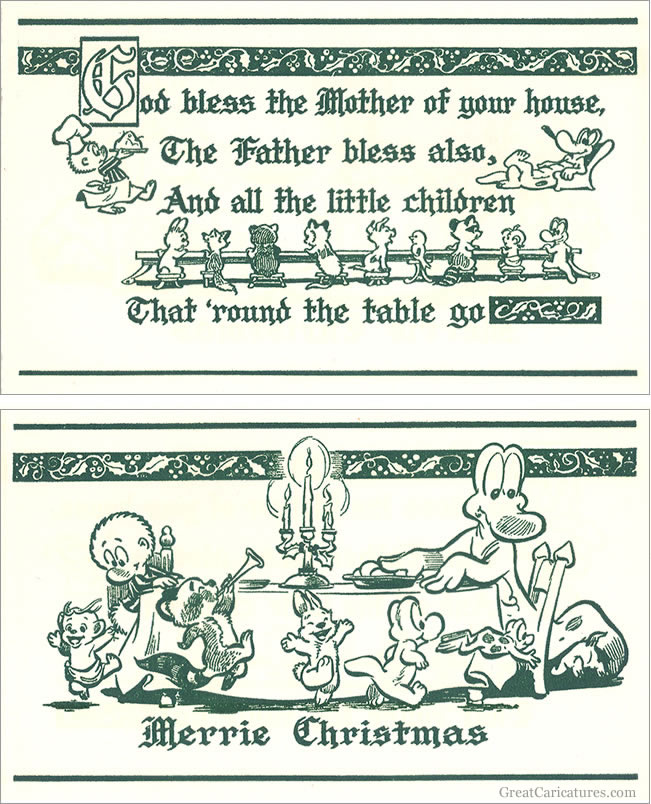 1961 Pogo Christmas Card